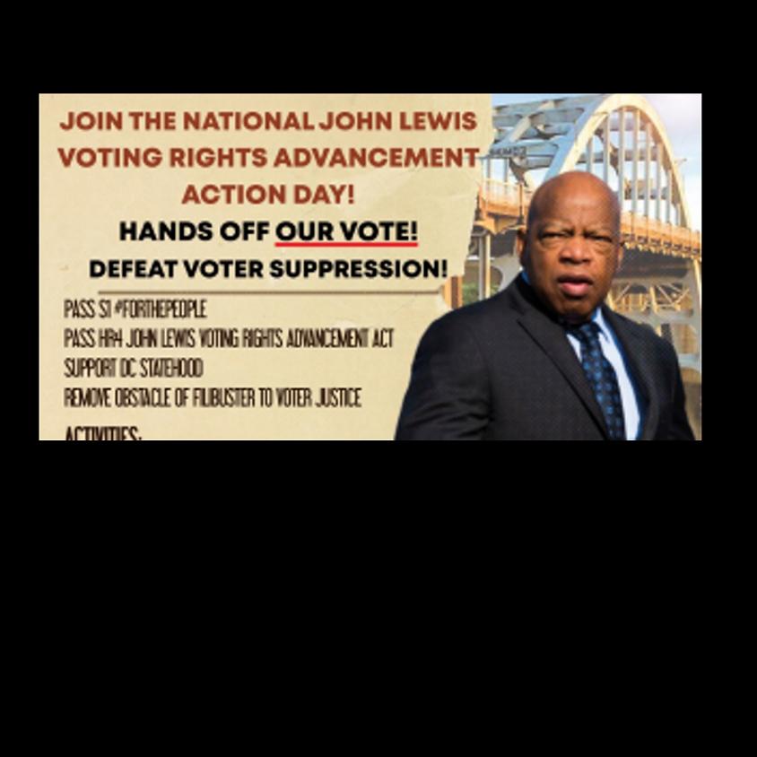 John Lewis Votercade Day of Action