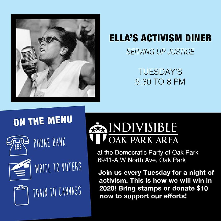 Ella's Activism Diner - Serving Up Justice