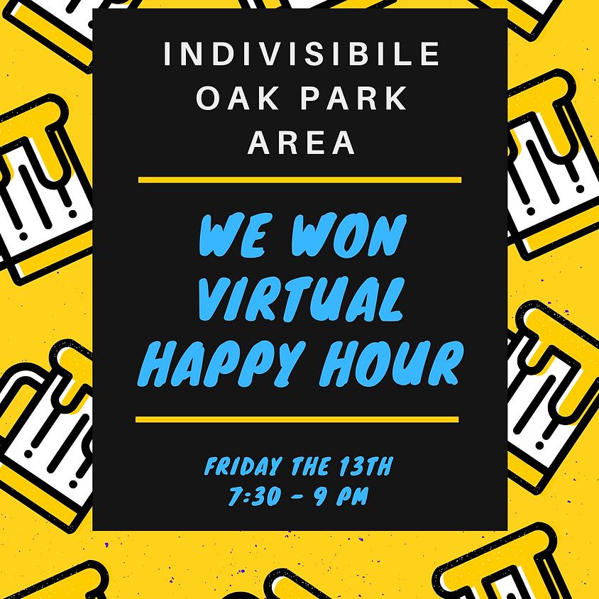 We Won Happy Hour!