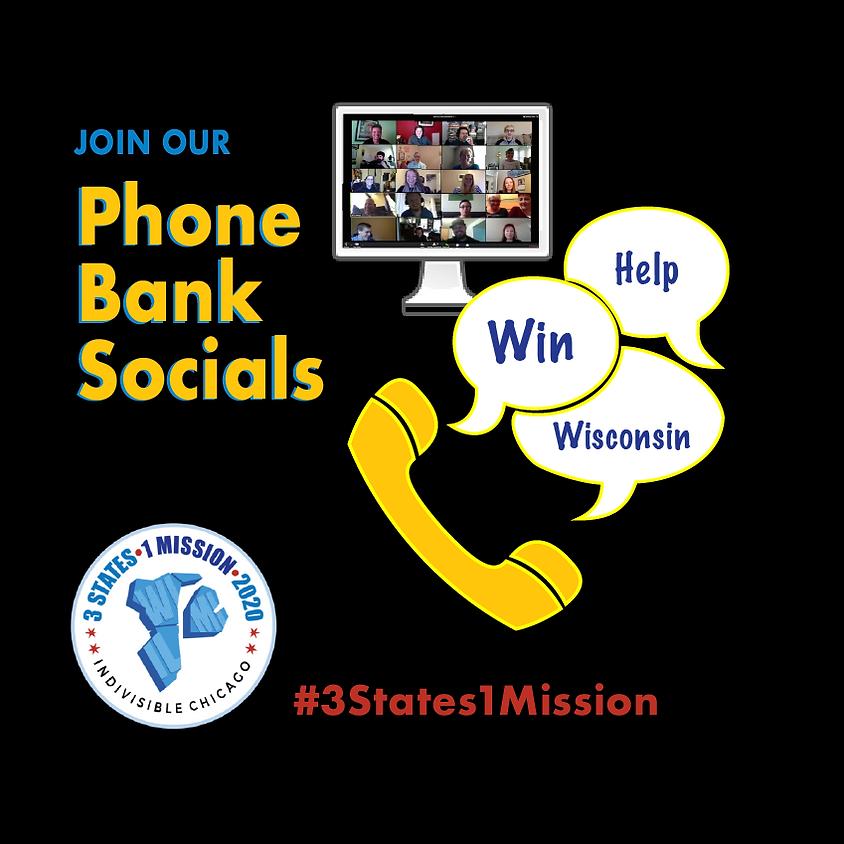 Phone Bank Socials for Wisconsin