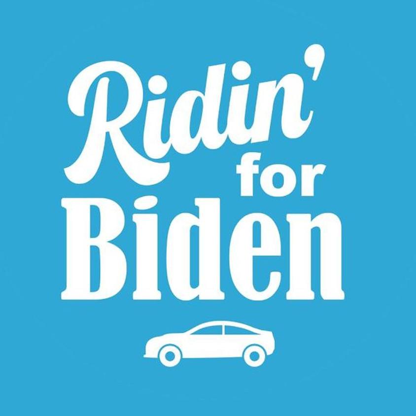 Ridin' For Biden Rally on Wheels - River Forest/Oak Park