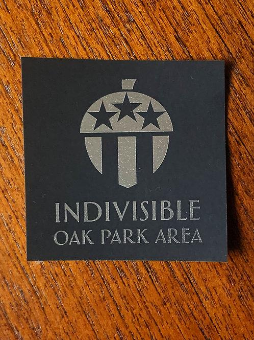 Indivisible Oak Park Area Sticker