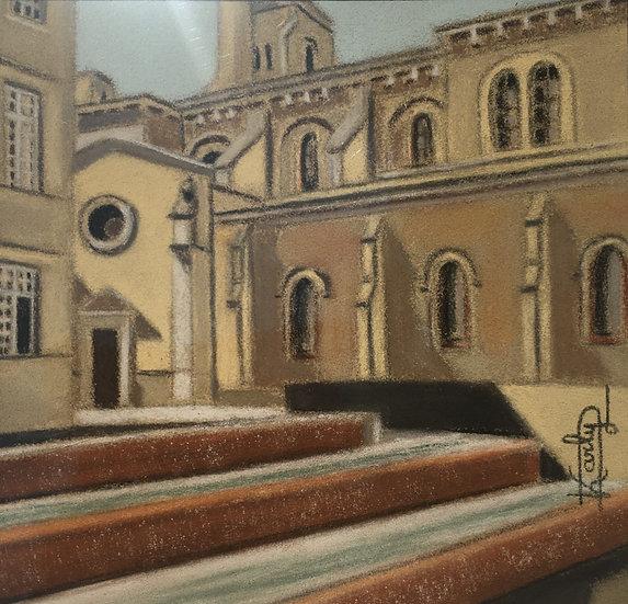 Cathédrale et bassins