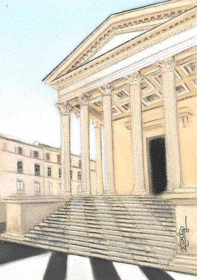 L'ombre des colonnes