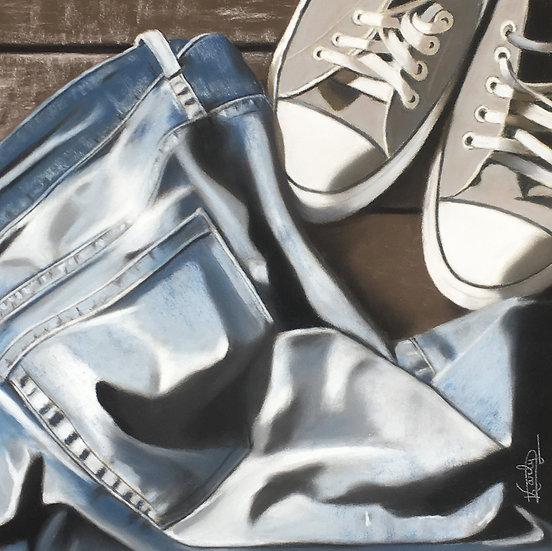 Jeans/Basquettes