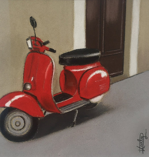 Un petit tour en scooter