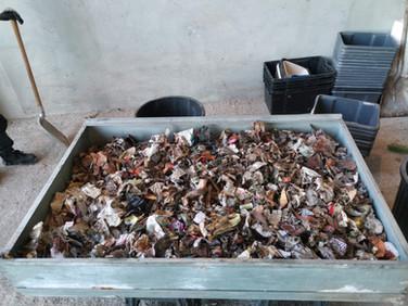 Caractérisation des déchets