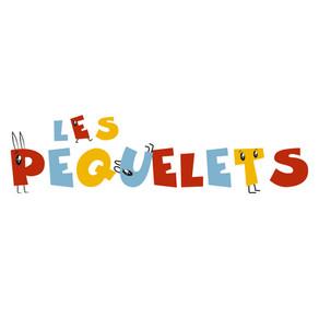 """Logo à pattes pour les """"PEQUELETS"""""""