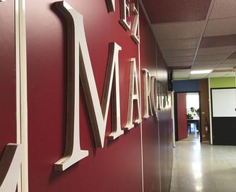Office branding pour L'IDRAC de Montpellier