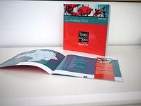 Création du catalogue printemps été de Terres du Soleil par l'Atelier Vauban graphiste à Nimes