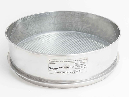 ISO/BS Standard 10.00mm-1.00mm Round Hole Perforated Plate Test Sieve