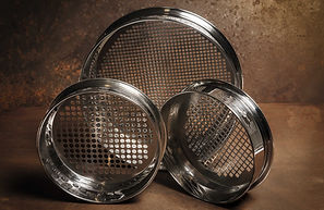 Glenammer Stainless Steel Perforated Plate Sieve