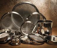 Glenammer UK engineered laboratory test sieves  stainless steel