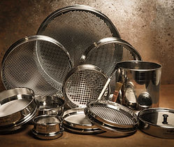 Glenammer UK engineered laboratory stainless steel test sieves
