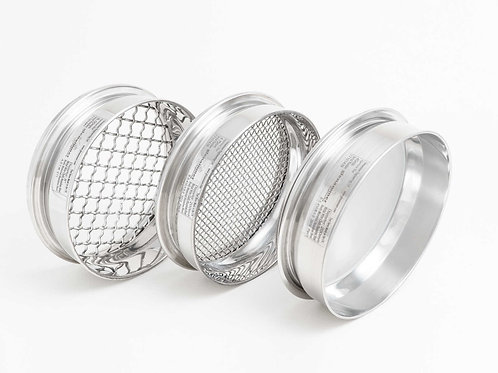 ISO/BS Standard 900µm - 90µm Woven Wire Test Sieve