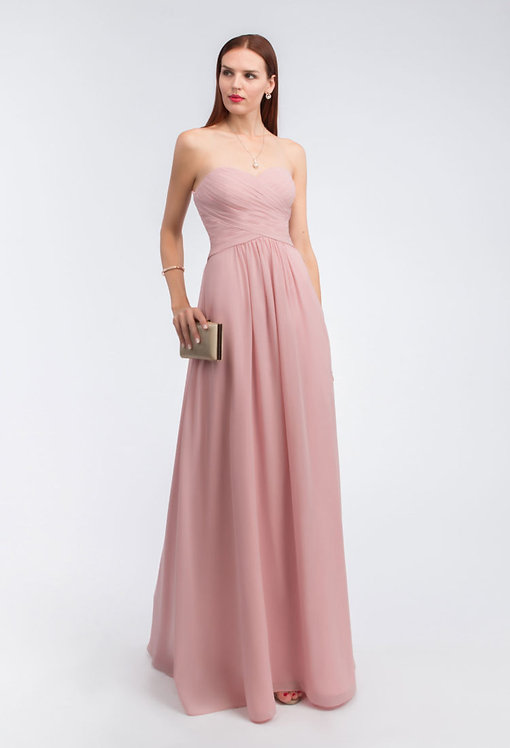 Robe longue cocktail Moledet 180213