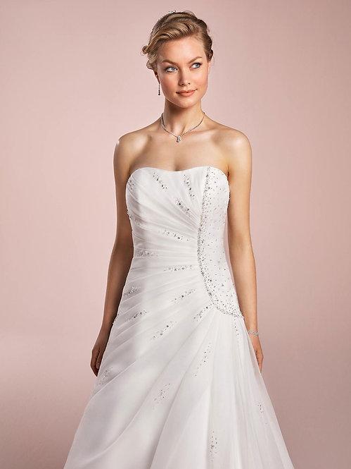 Robe de mariée blanche modèle bucarest