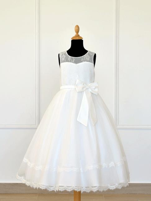 robe demoiselle d'honneur enfant