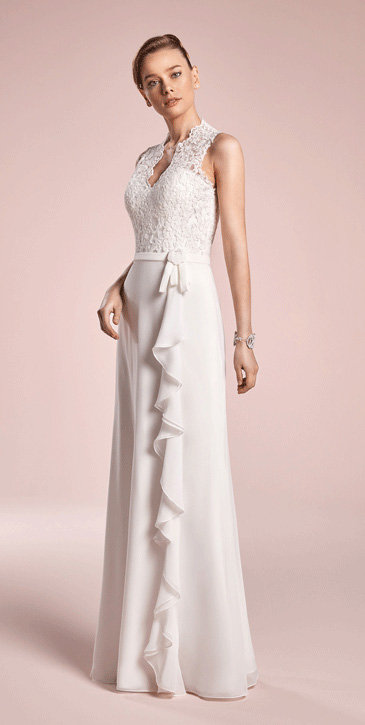 Robe point mariage florence