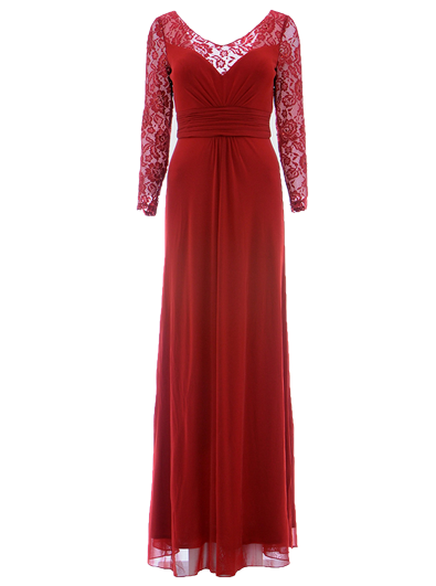 Robe longue P8988