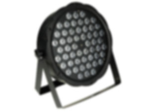 PAR LED 54x3 RGBW SLIM