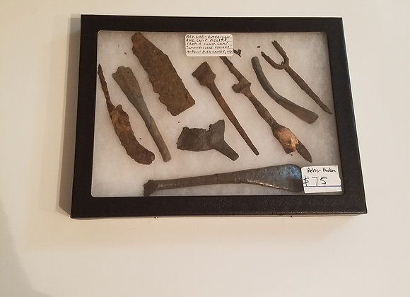 Rev War American Dug Camp Relics from the Hudson Highlands