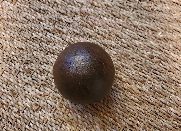 Revolutionary War 4 lb Cannon Ball found at the Flora Macdonald Plantation