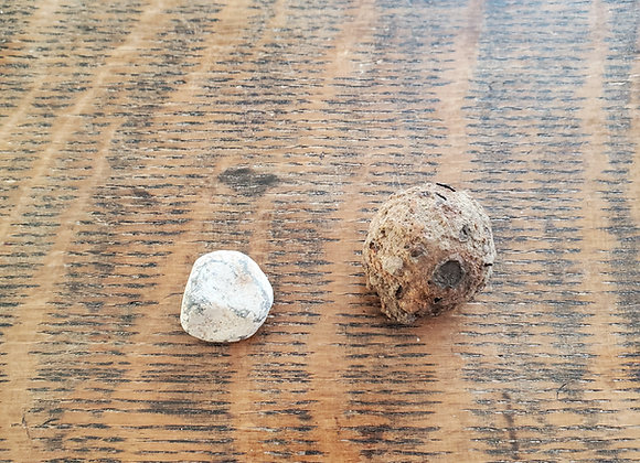 Revolutionary War Battle of Castine Musket Ball and GrapeShot