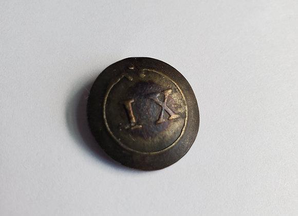 British 9th Regiment of Foot Button