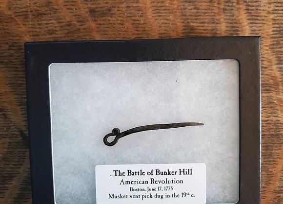 Revolutionary War Battle of Bunker Hill Dug Musket Vent Pick Extremely Rare