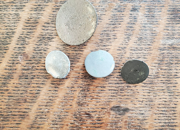 Revolutionary War Hessian Buttons Dug near Williamsburg, VA