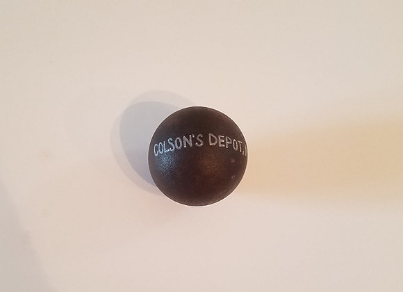 American Revolutionary War 4 pouder Cannon Ball from Colson's Depot NC