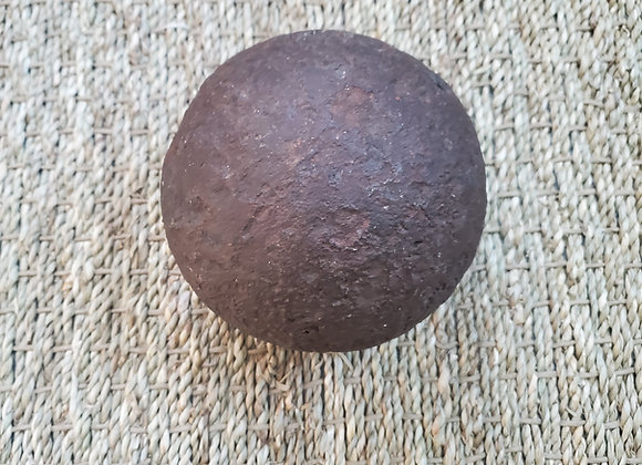 French and Indian War 18lb. Cannon Ball Dug at Ft. William Henry