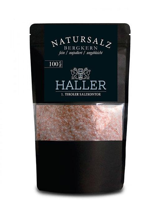 100g HALLER / Natursalz / fein