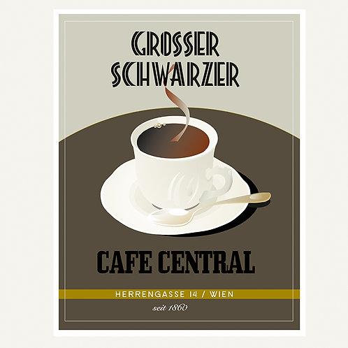 Grosser Schwarzer / Cafe Central / Wien