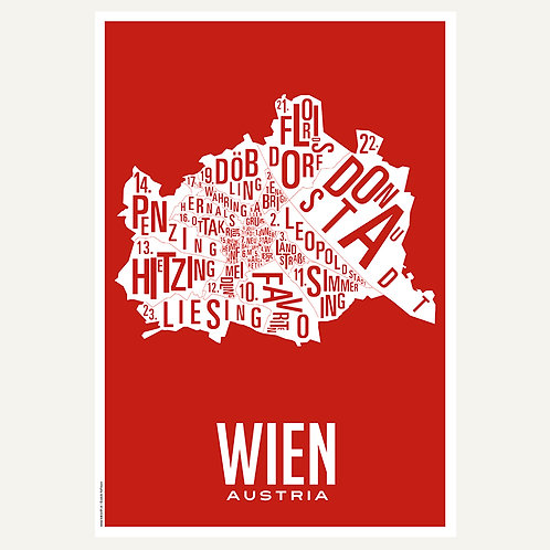Wien - Stadtviertel