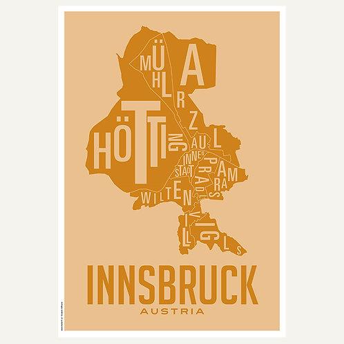Innsbruck - Stadtviertel