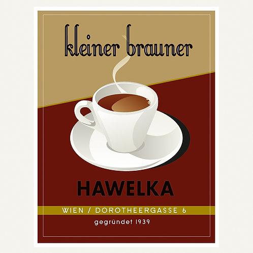 kleiner Brauner / Cafe Hawelka / Wien