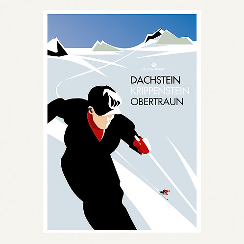 Skifahrer / Dachstein Krippenstein