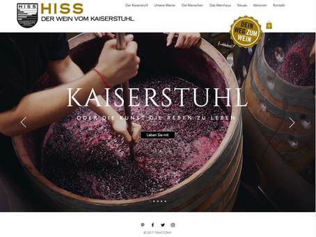 WEINGUT HISS und der Wein vom Kaiserstuhl