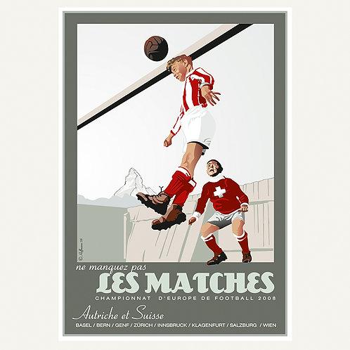 Les Matches / Fussball EM