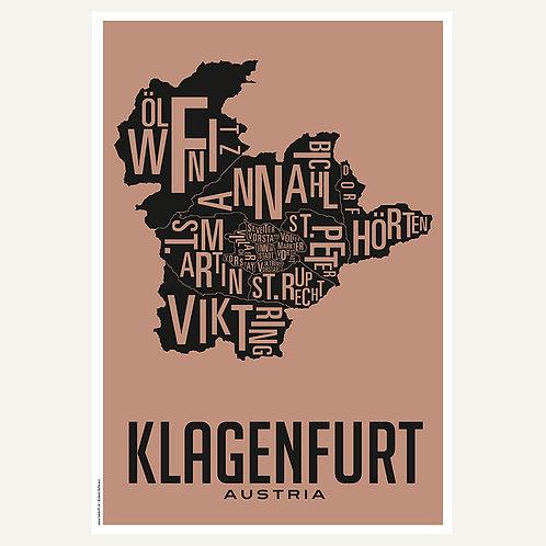 Klagenfurt - Stadtviertel