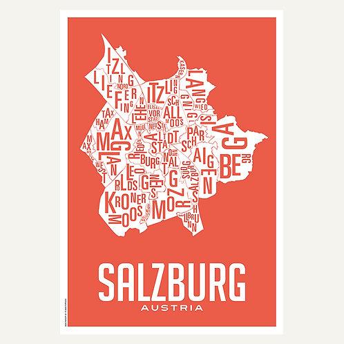 Salzburg - Stadtviertel