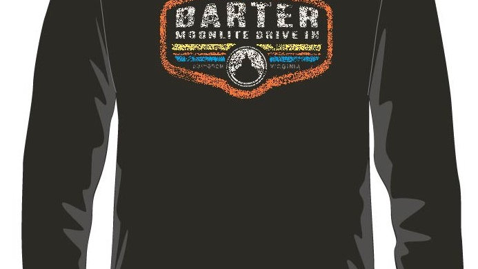 Barter at the Moonlite Long Sleeved Tee