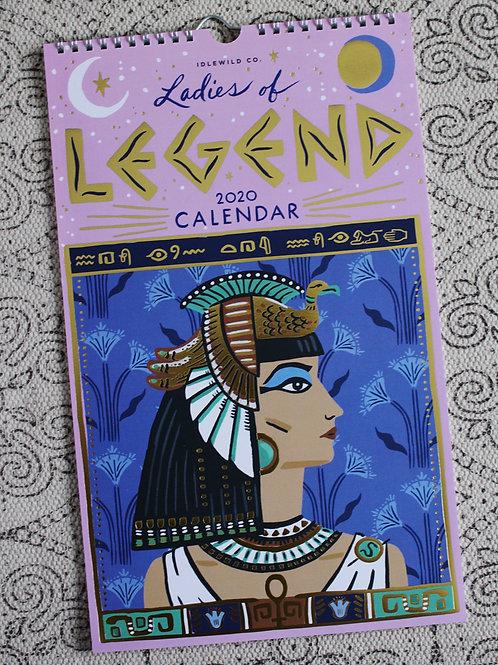 Ladies of Legend Calendar