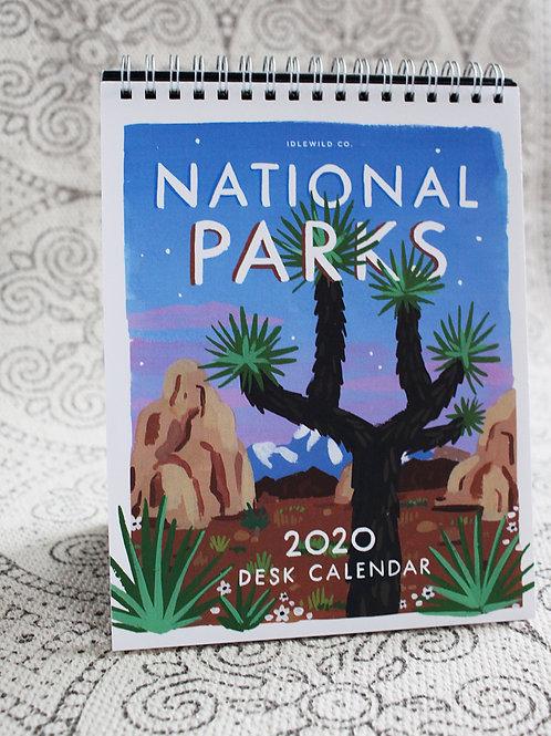 National Parks Desk Calendar