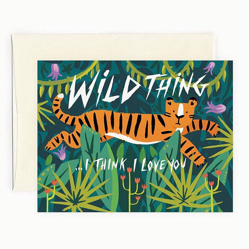 Wild Thing Card
