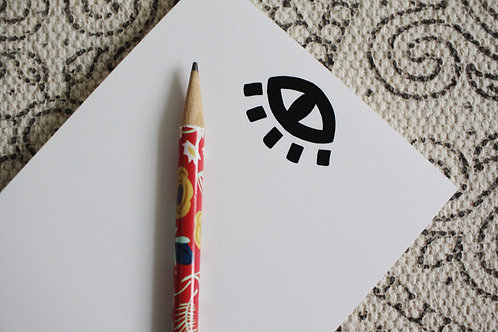 All Seeing Eye Notepad