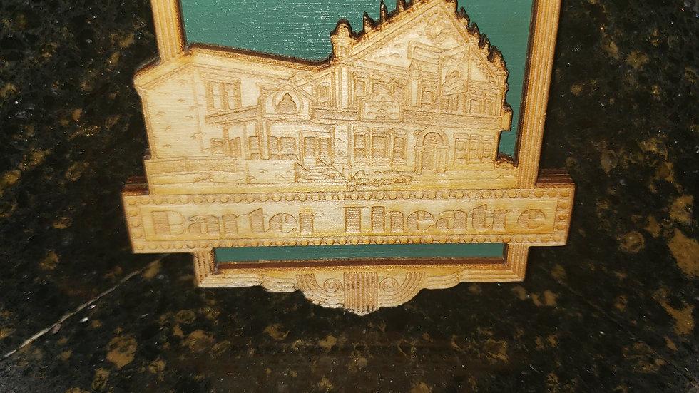Barter Theatre Wooden Magnet