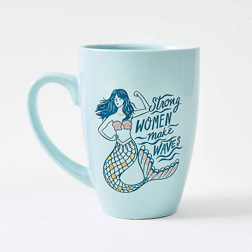 Strong Women Make Waves Mug